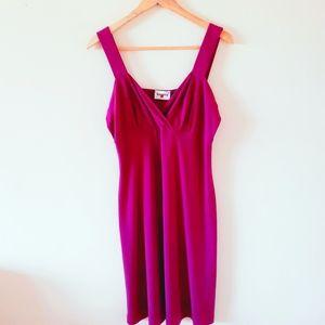 BAGARRY Made in Italy Fuchsia Midi dress